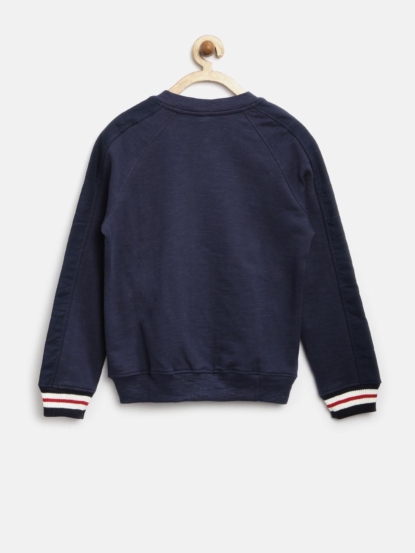 00c734b53322 Buy United Colors Of Benetton Boys Navy Sweatshirt - Sweatshirts for ...