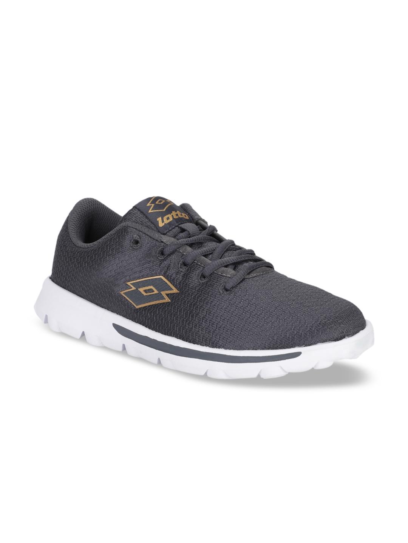 Lotto Women Grey Mesh VERTIGO W Running Shoes