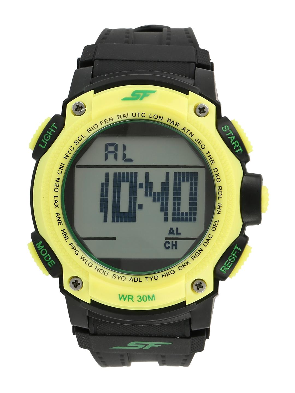 Sonata Men Grey Digital Watch NL77073PP05A