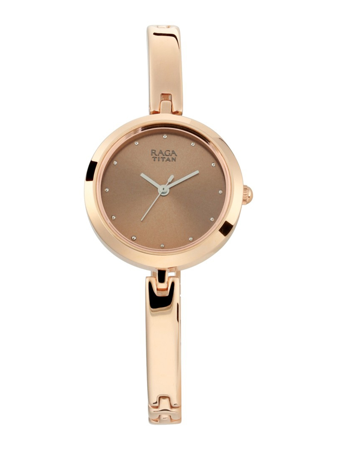 Titan Women Brown Analogue Watch