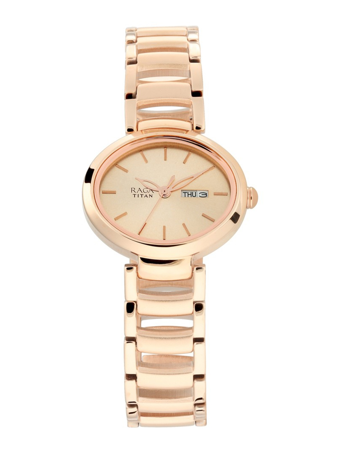 Titan Women Rose Gold Analogue Watch