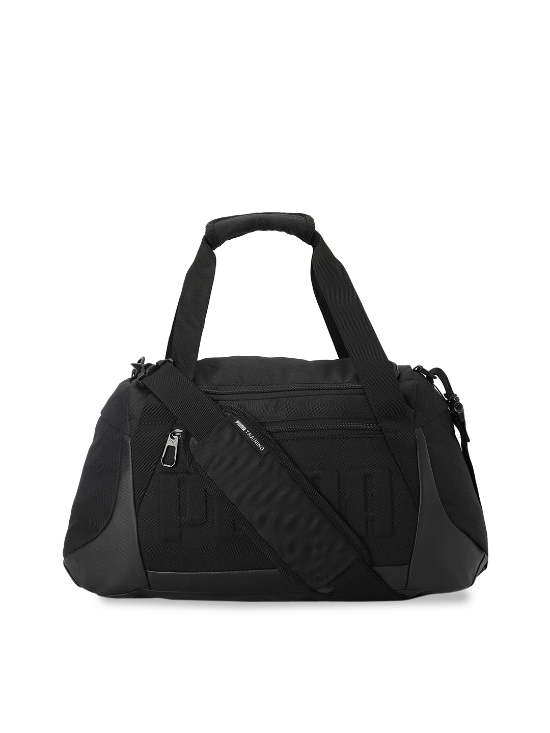 Puma Unisex Black Solid Gym Duffel Bag