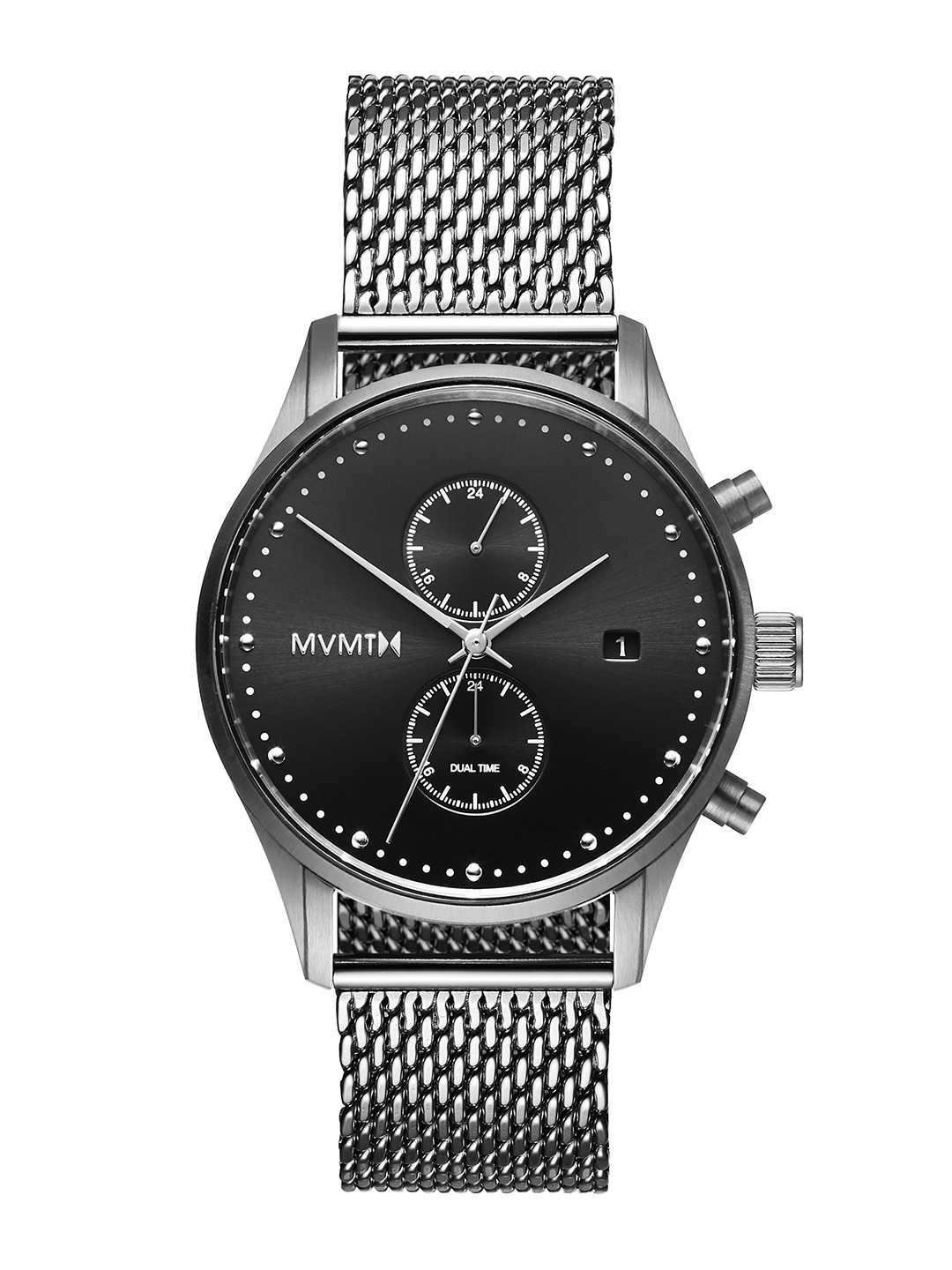 MVMT Men Black Analogue Watch D MV01 S2