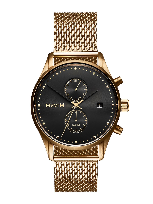 MVMT Men Black Voyager Analogue Watch D MV01 G2
