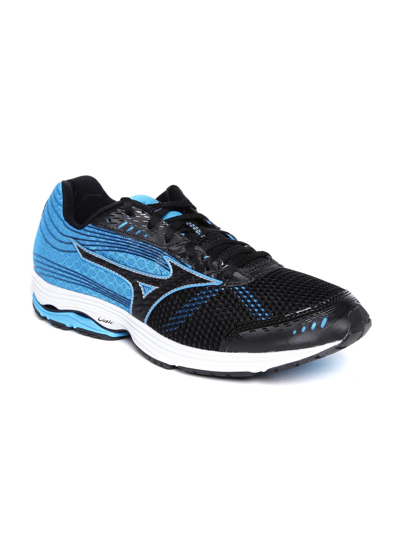 Mizuno Men Black   Blue Wave Sayonara 3 Running Shoes