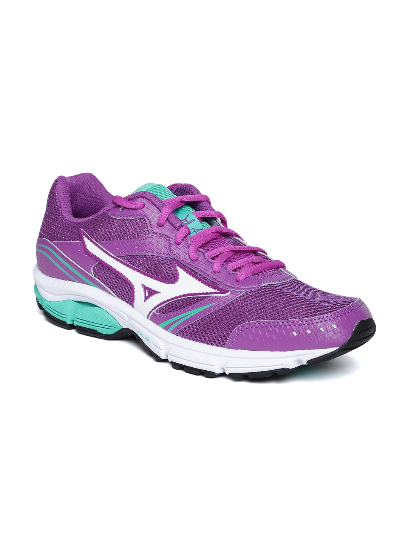 Mizuno Women Purple Wave Impetus 3 Running Shoes