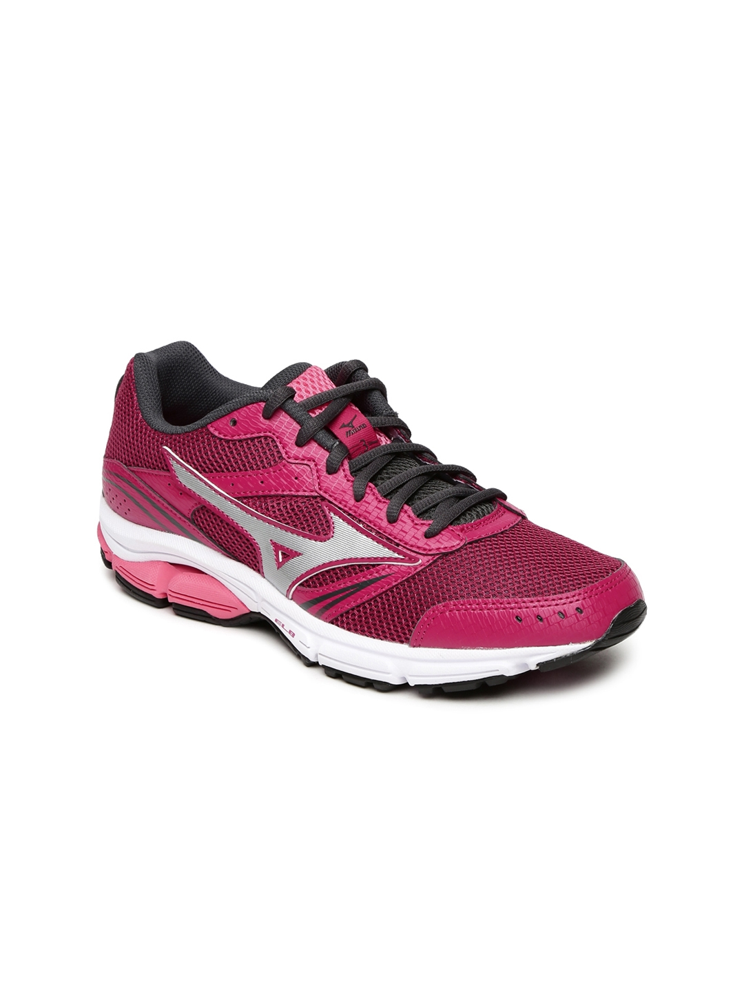 Mizuno Women Pink WAVE IMPETUS 3  W  Running Shoes