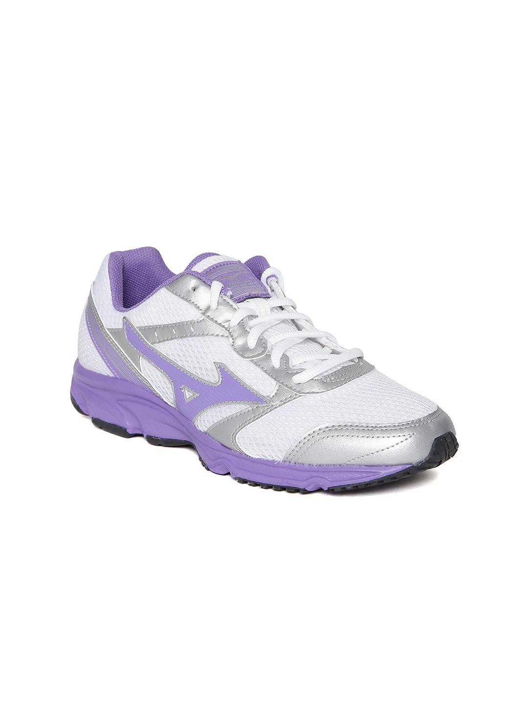 Mizuno Women White Maximizer 18 Running Shoes