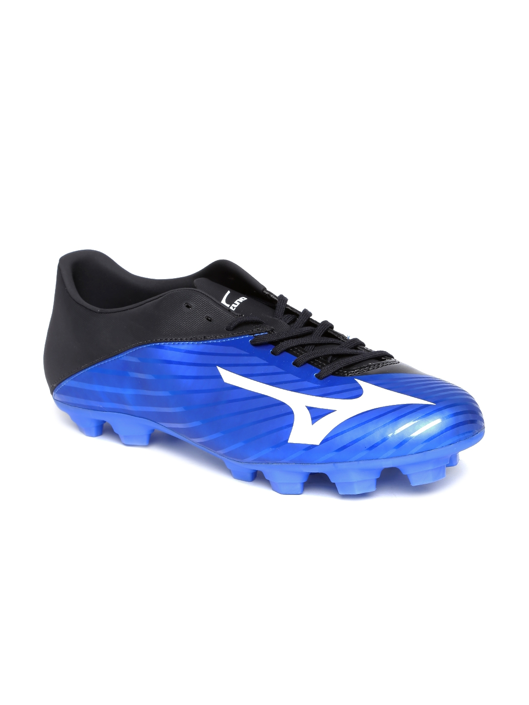 9fef4fb0b8e Buy Mizuno Men Blue   Black BASARA 103 MD Football Shoes - Sports ...