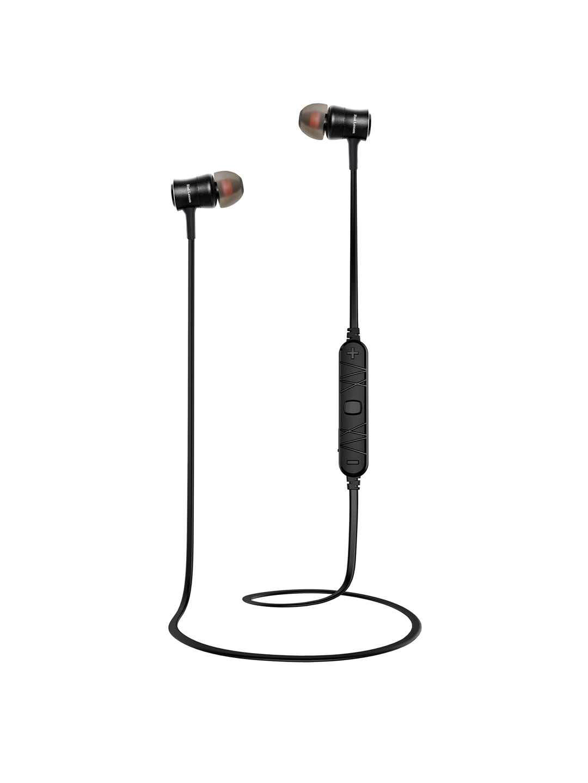 Red Lemon Black Taal B240 Bluetooth Sports Wireless in Ear Headphone