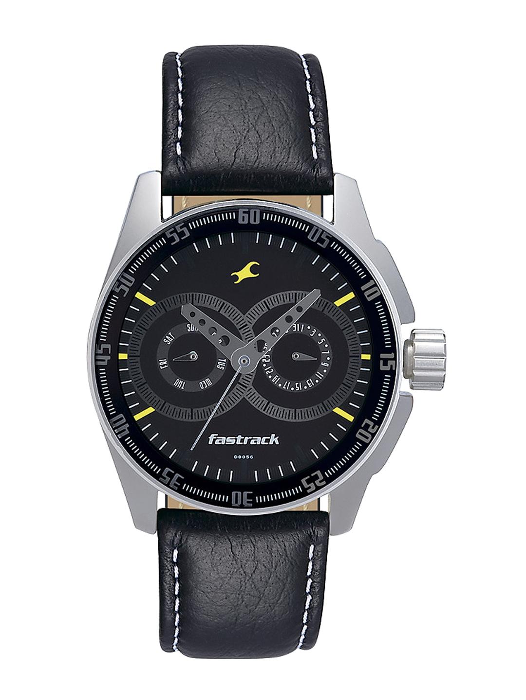 Fastrack Men Black Dial Watch NF3089SL02