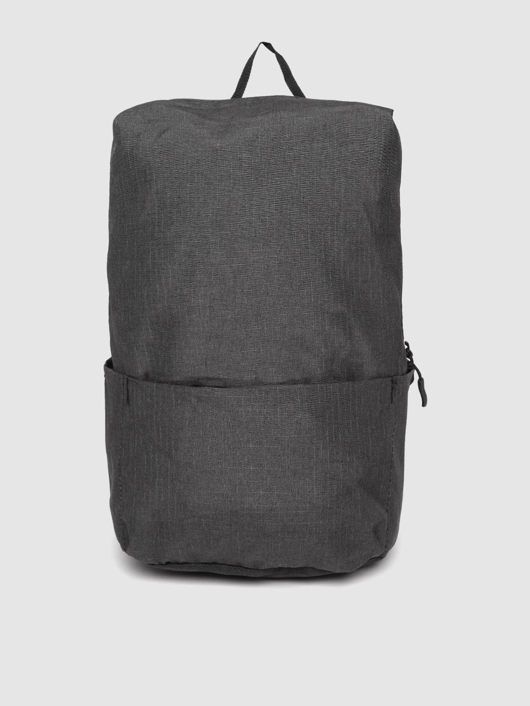 ROYAL SON Unisex Black Solid 15 Inch Laptop Backpack