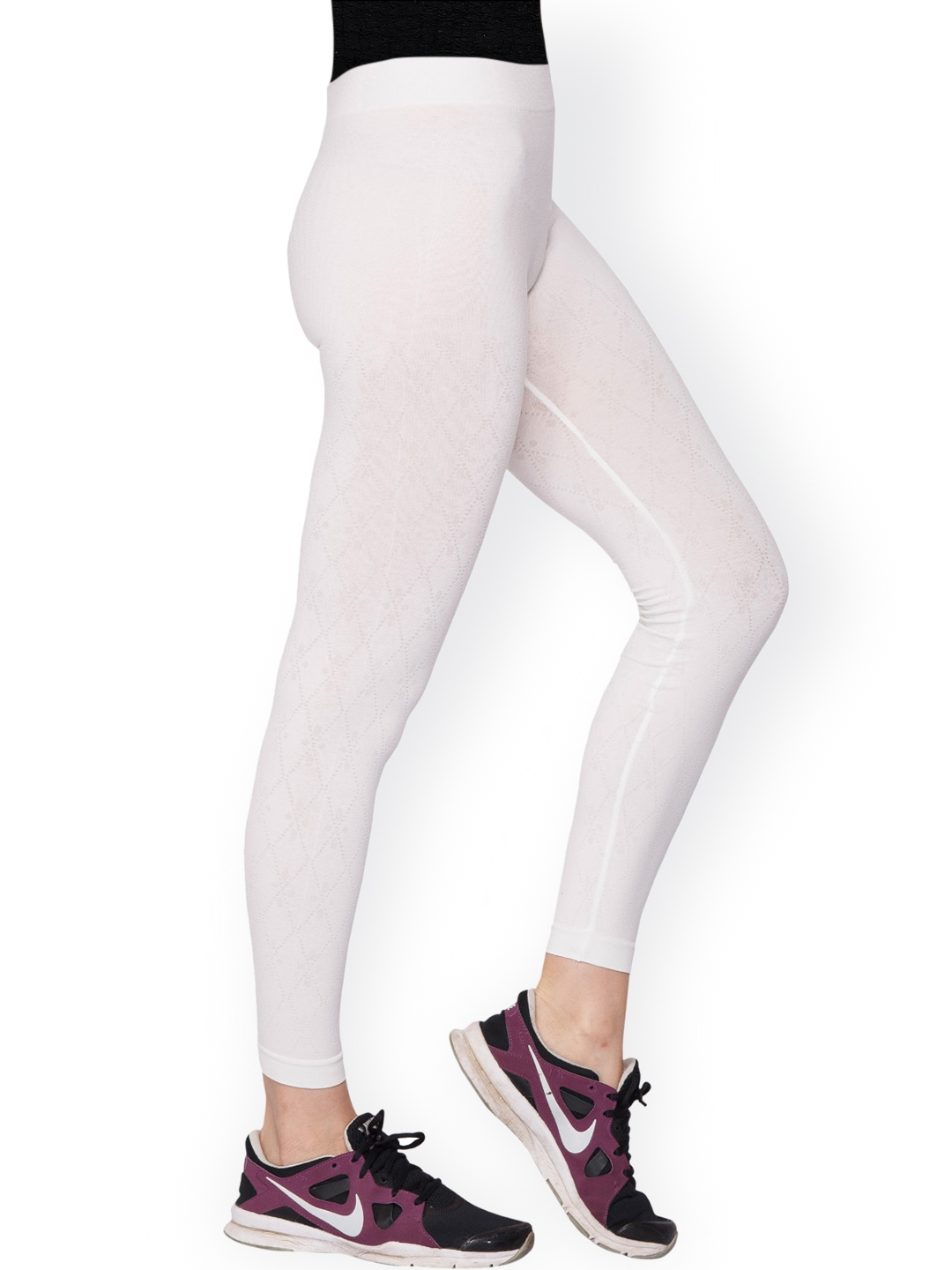 185e663fb8ea3 Buy C9 Off White Ankle Length Leggings - Leggings for Women 1201085 ...