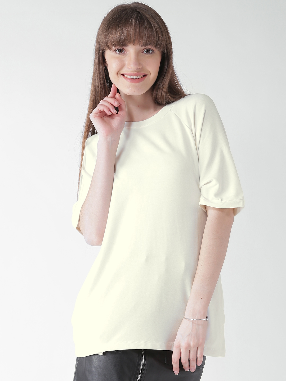 1597d0c02 White T Shirt Forever 21 | Top Mode Depot