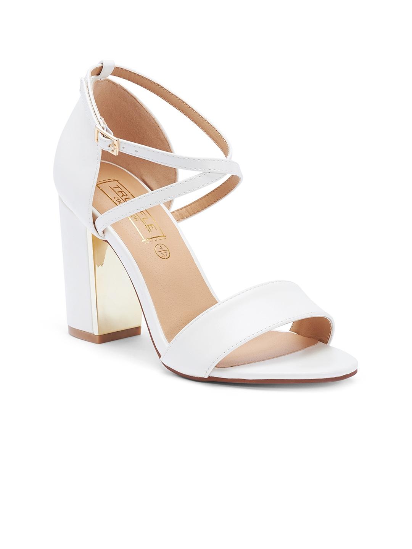 641998e50b3 Buy Truffle Collection Women White Heels - Heels for Women 1206252 ...