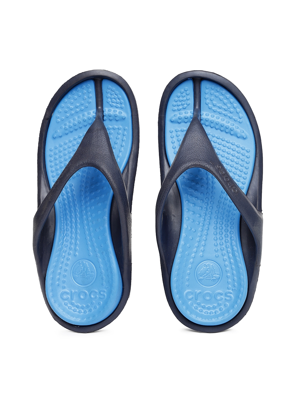 f265208d2 Buy Crocs Unisex Blue Athens II Flip Flops - Flip Flops for Unisex ...