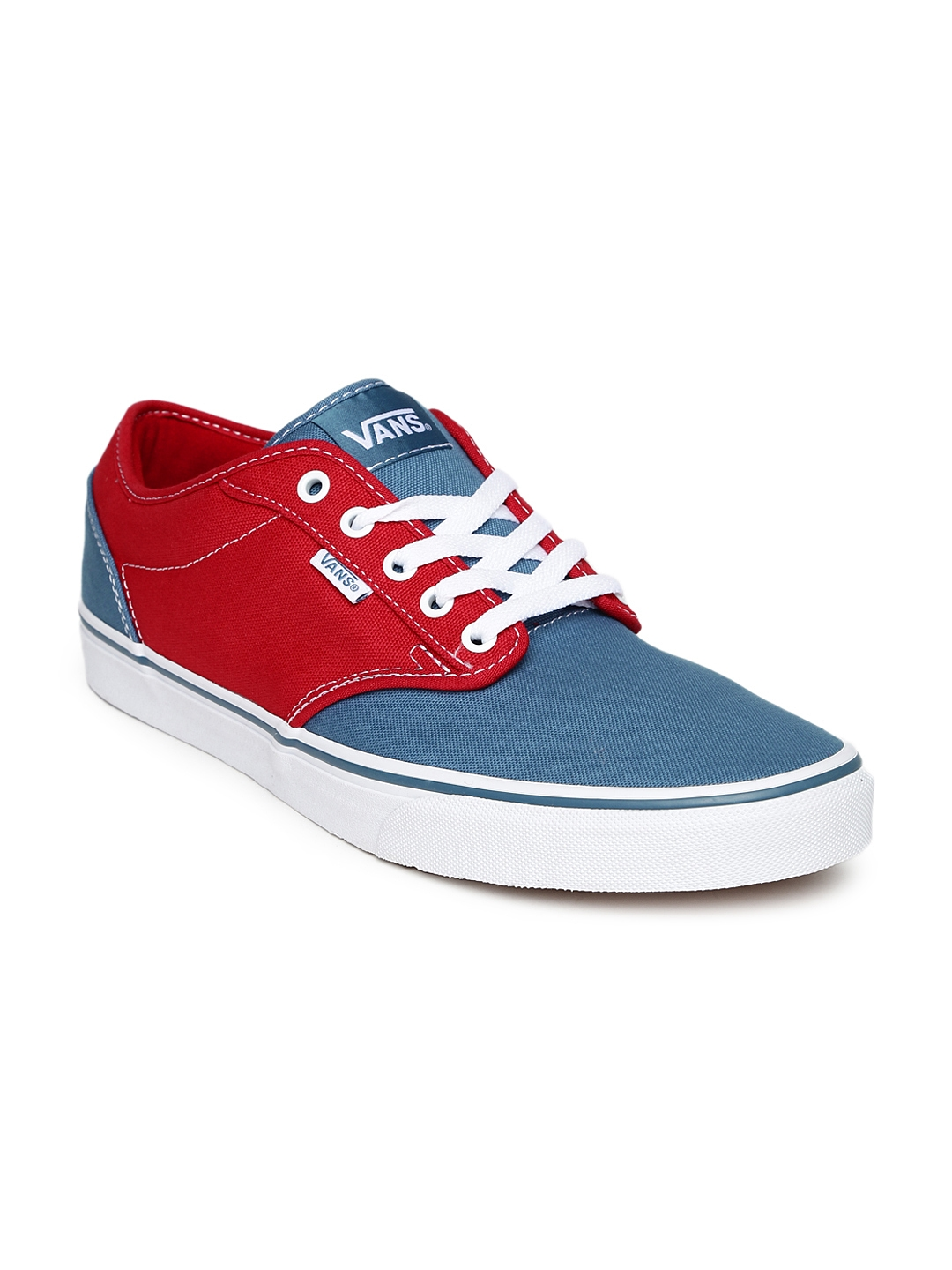 b8612363a5b Buy Vans Men Red   Blue Atwood Casual Shoes - Casual Shoes for Men ...