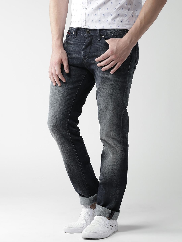 9c9e47dc Buy Tommy Hilfiger Navy Scanton Slim Fit Stretchable Jeans - Jeans ...