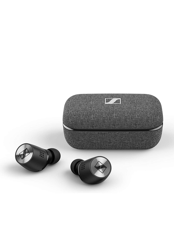 Sennheiser Men Black Momentum True Wireless 2 Headphones