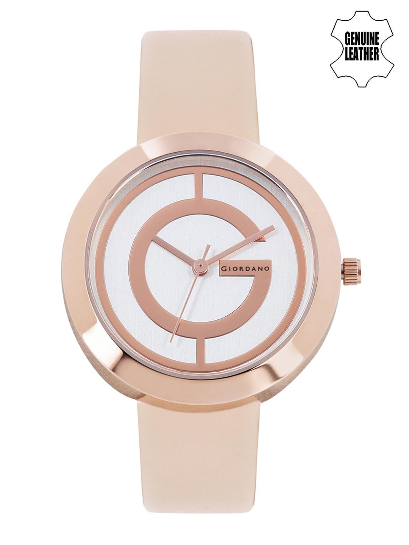 GIORDANO Women Silver Toned Dial Watch A2042 06