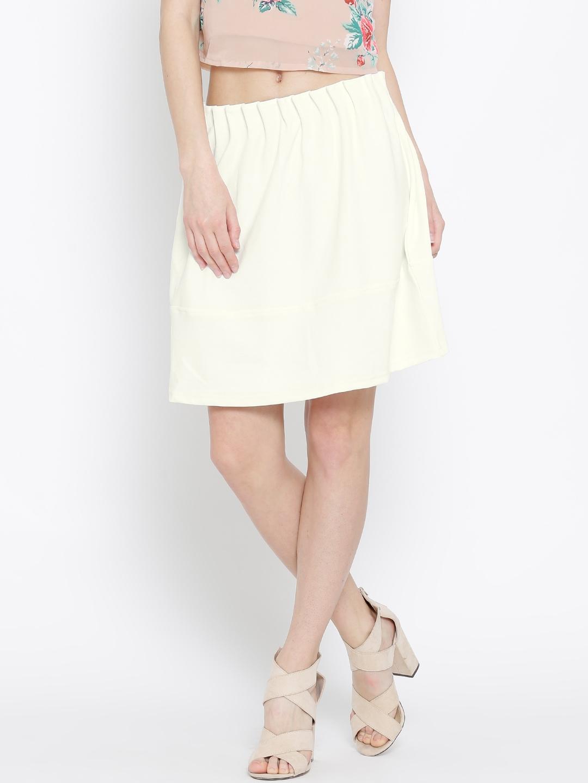 32f1d20240 Buy Vero Moda Off White A Line Skirt - Skirts for Women 1227853 | Myntra