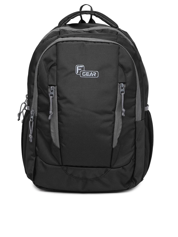 F Gear Unisex Black Prestige Backpack