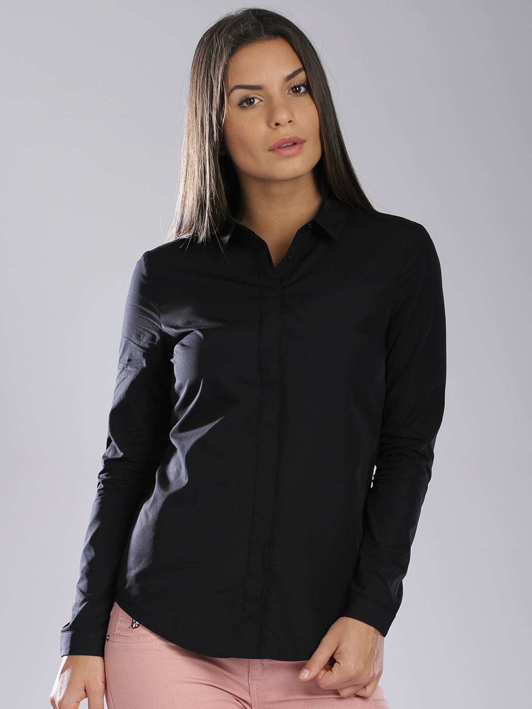 148c97f8e814bf Buy Calvin Klein Jeans Black Shirt - Shirts for Women 1236401