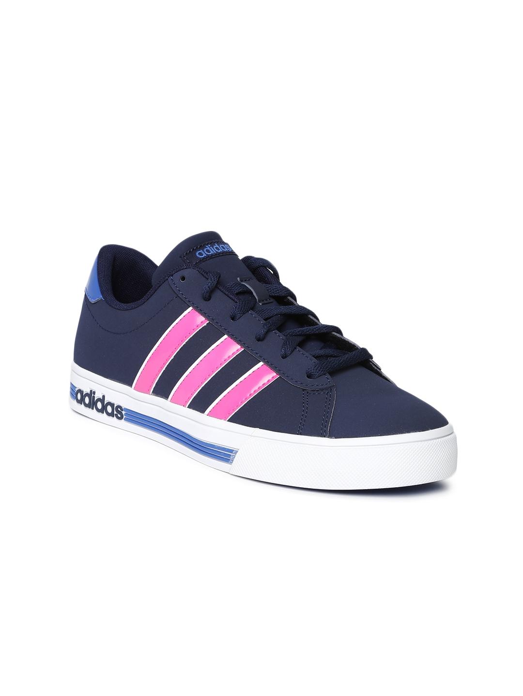 grand choix de c6eeb 2dae5 ADIDAS NEO Women Navy Daily Team Casual Shoes