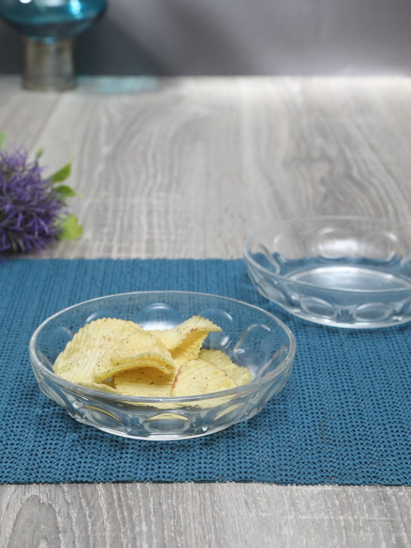 Luminarc Transparent 6 Pieces Solid Glass Plates Set