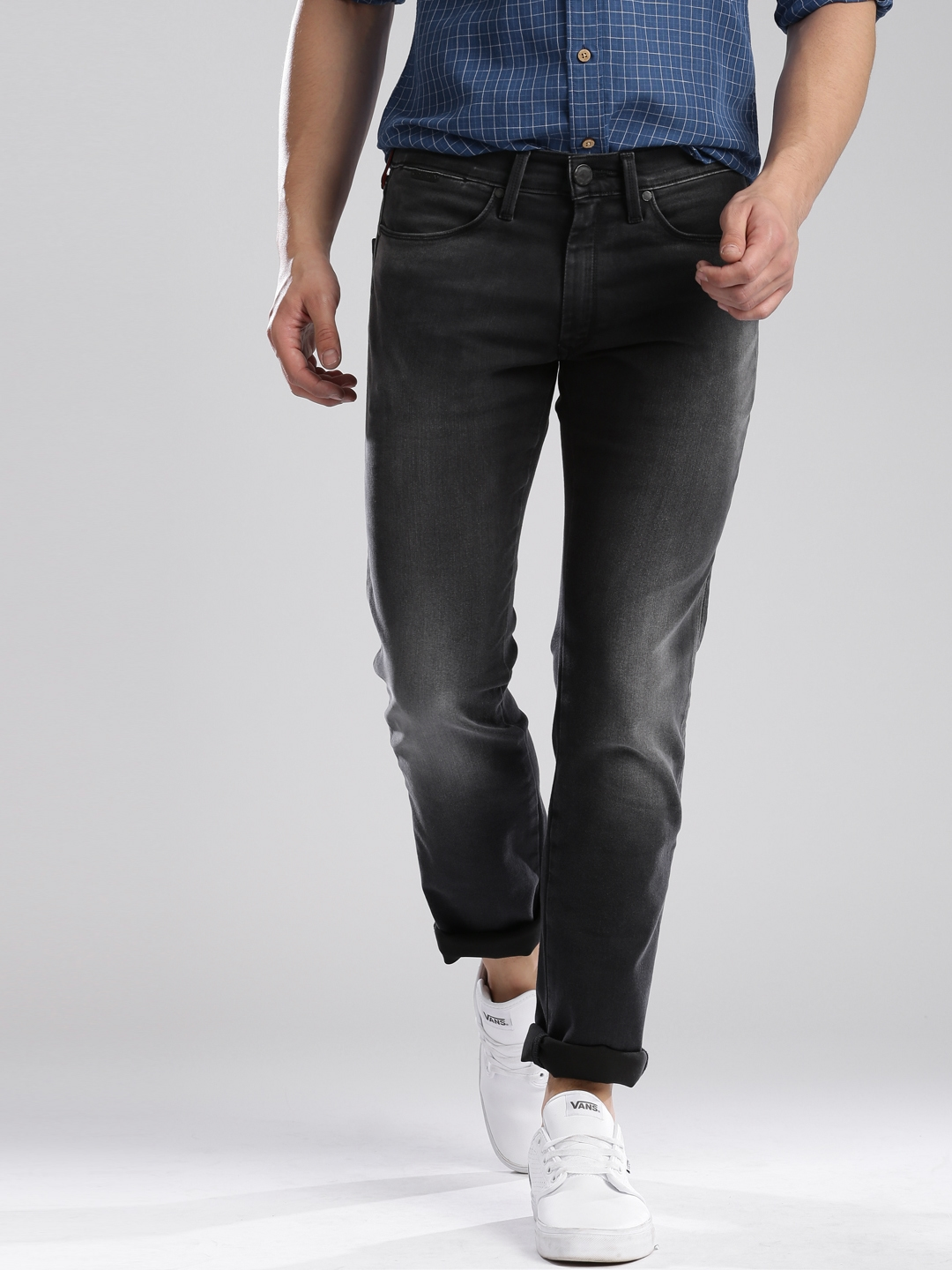 92b6a577 Levi S Black Skinny Straight Fit 65504 Jeans For Men