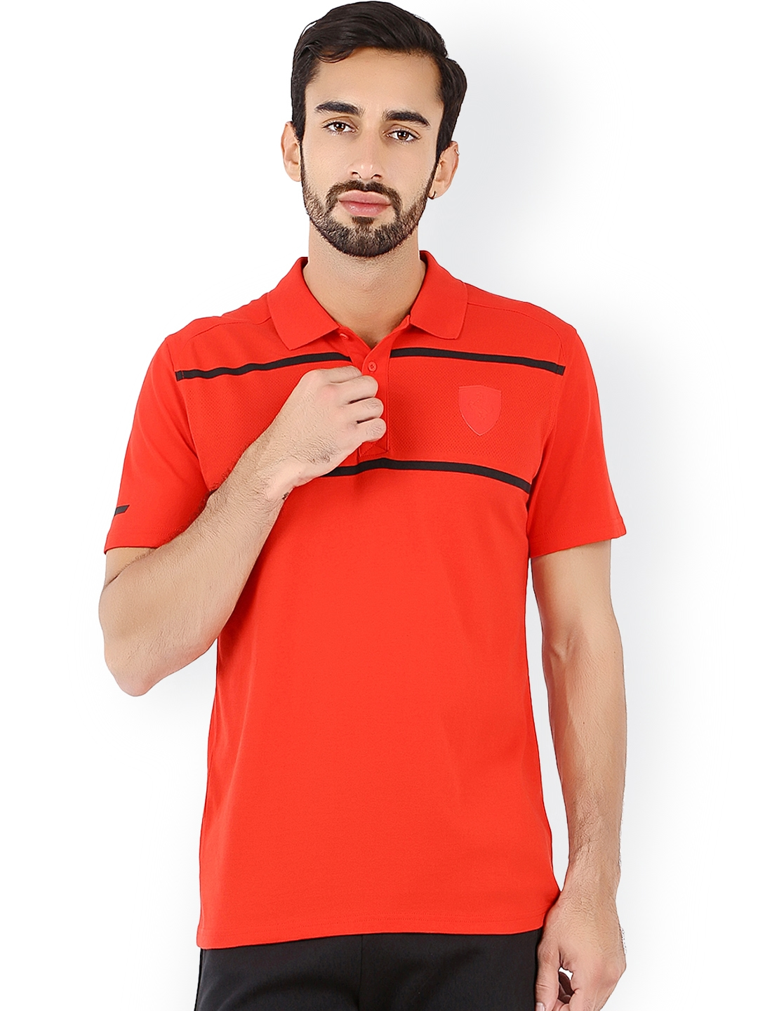 84e8925c Buy PUMA Red Ferrari Polo T Shirt - Tshirts for Men 1248255 | Myntra