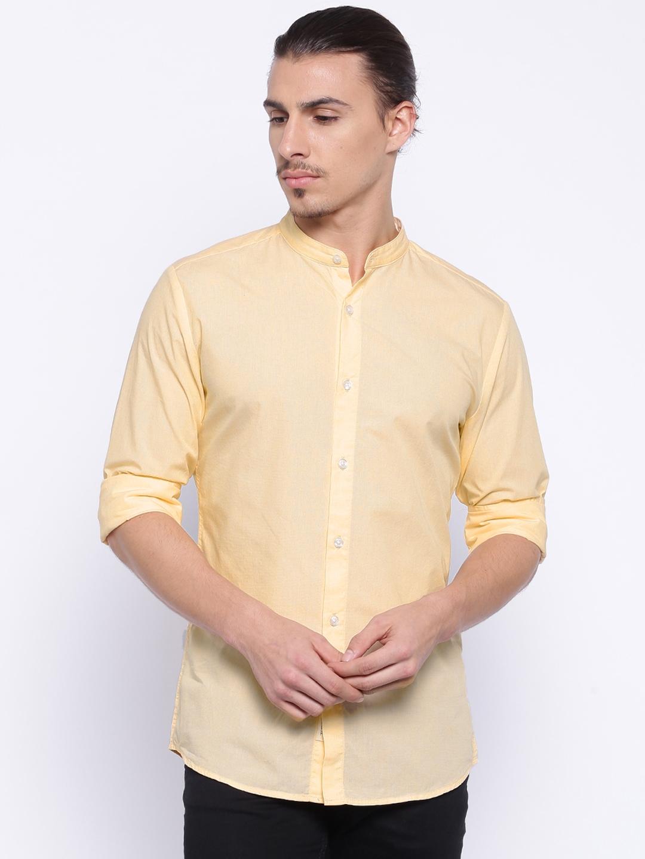 Peach colour shirt for mens custom shirt for Mens colored t shirts