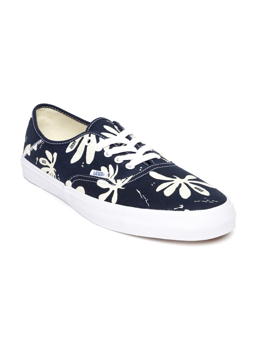 0ff6fbe066 Buy Vans Men Navy   Off White Tropical Print Casual Shoes - Casual ...