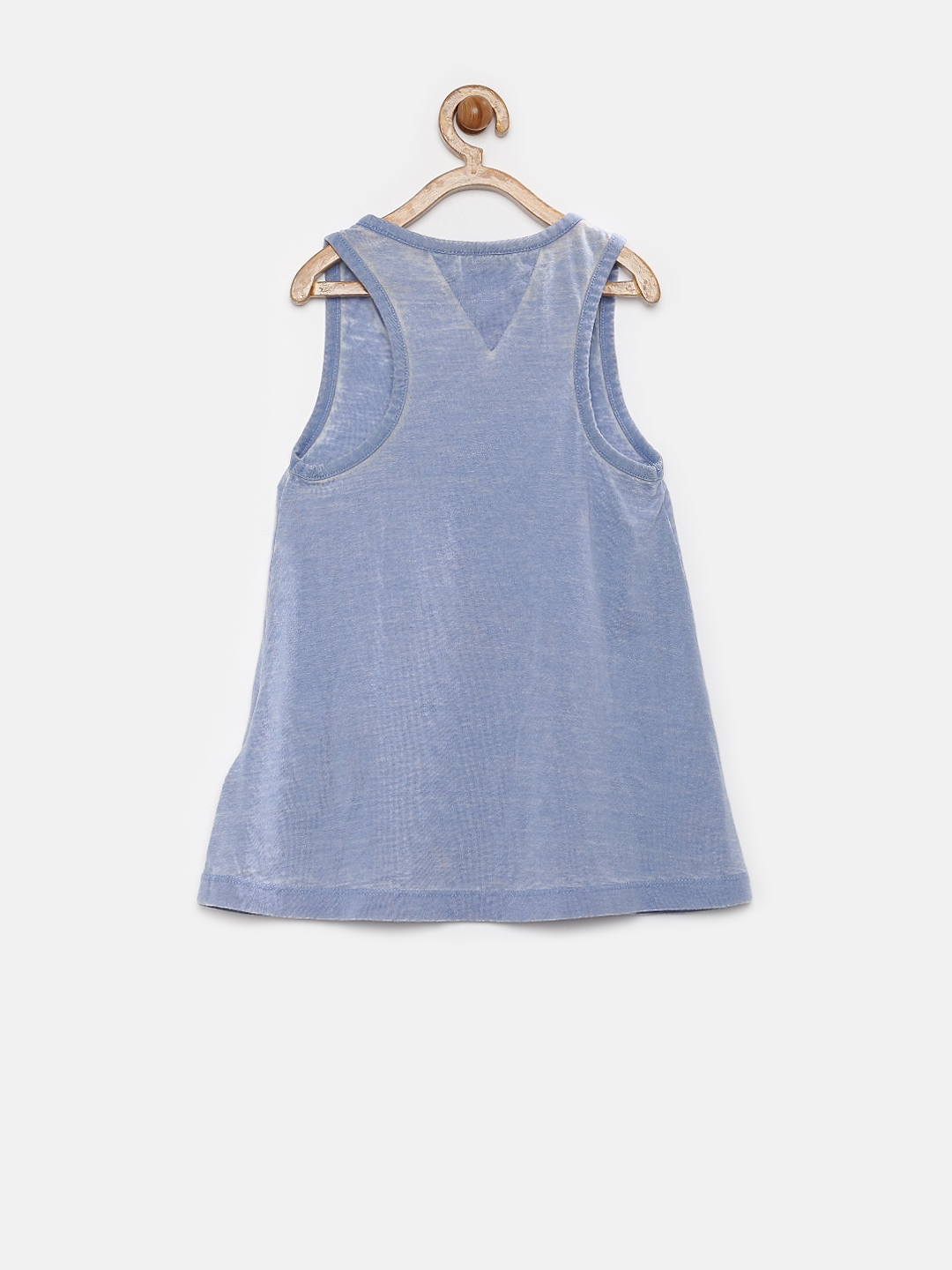 ce0355ac64819e Buy Tommy Hilfiger Girls Blue Tank Top - Tops for Girls 1254100