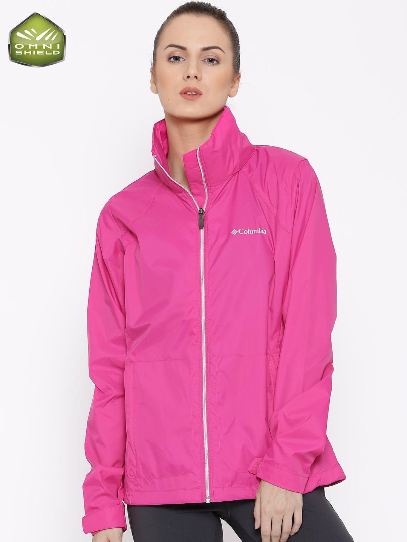 5937f056ddee1 Buy Columbia Pink Switchback II Hooded Waterproof Outdoor Rain ...