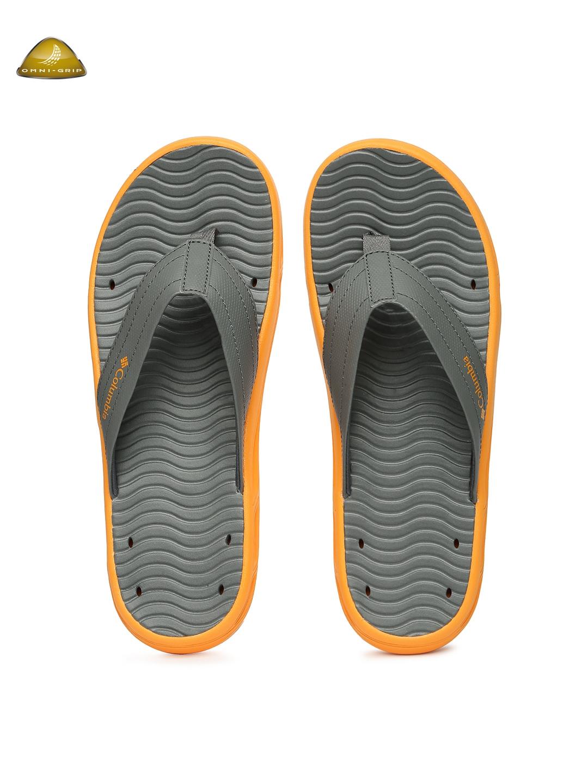 d53e5deaa123 Buy Columbia Men Grey Vent Cush Anti Slip Outdoor Flip Flops - Flip ...