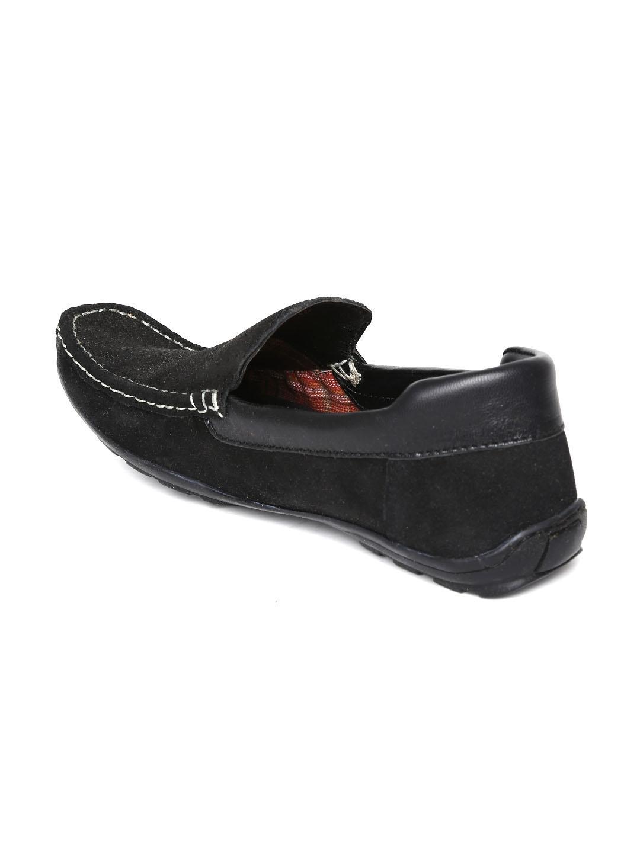 be8491429f9 Provogue Men Black Suede Loafers