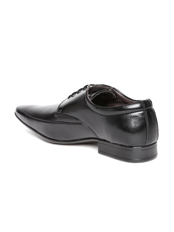 34b85c0ad95 Buy Provogue Men Black Formal Shoes - Formal Shoes for Men 1257189 ...