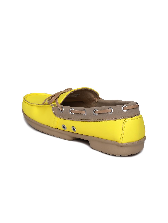 d5ee71364 Buy Crocs Women Yellow Boat Shoes - Casual Shoes for Women 1258720 ...