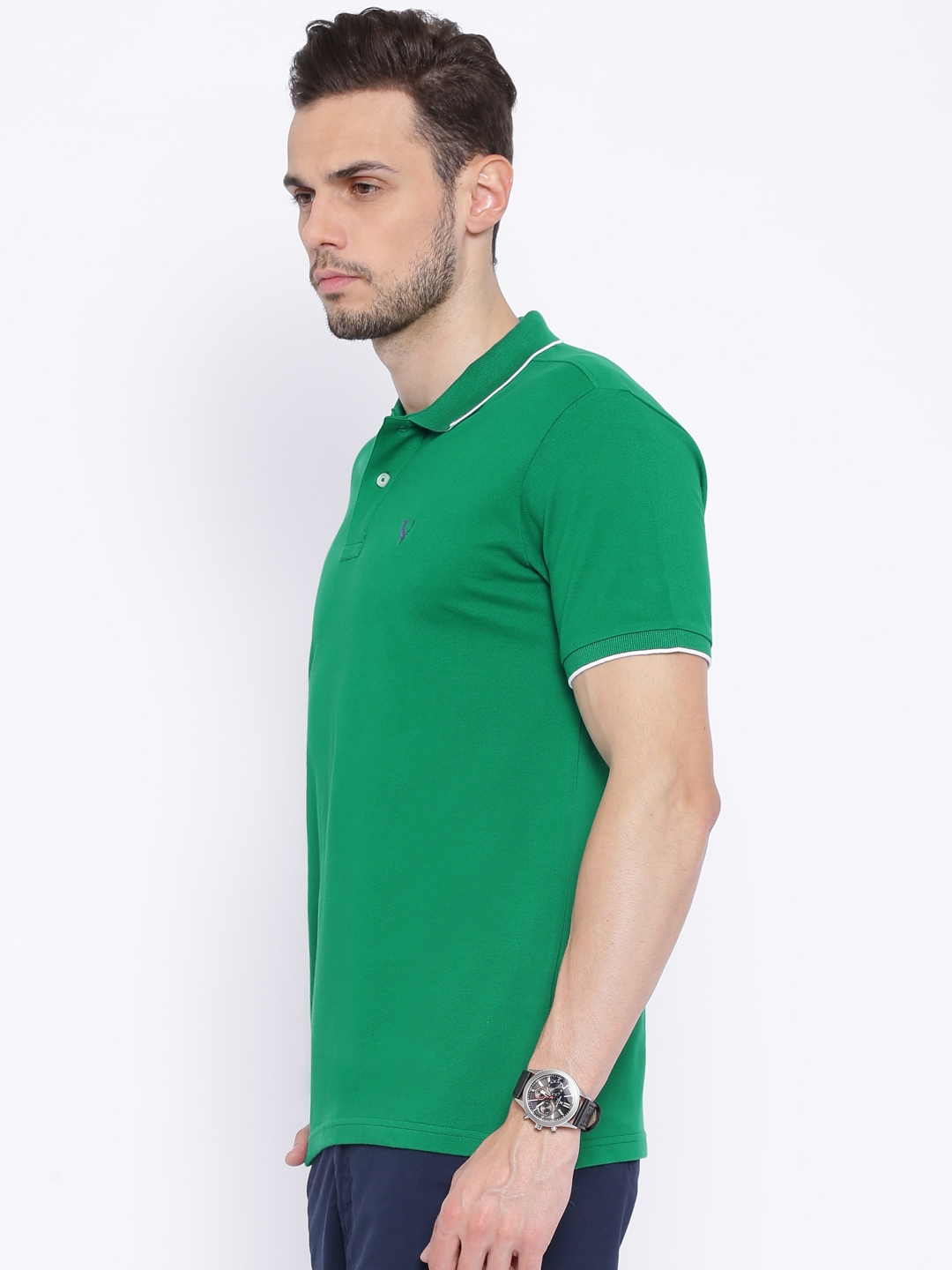 Buy Solly Sport By Allen Solly Green Wimbledon Polo T Shirt