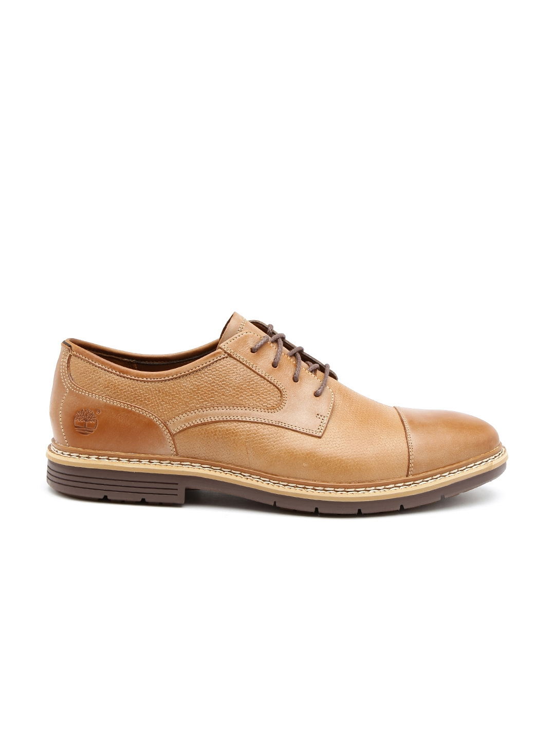 808e6895ae46 Buy Timberland Men Brown Leather Derby Semiformal Shoes - Formal ...