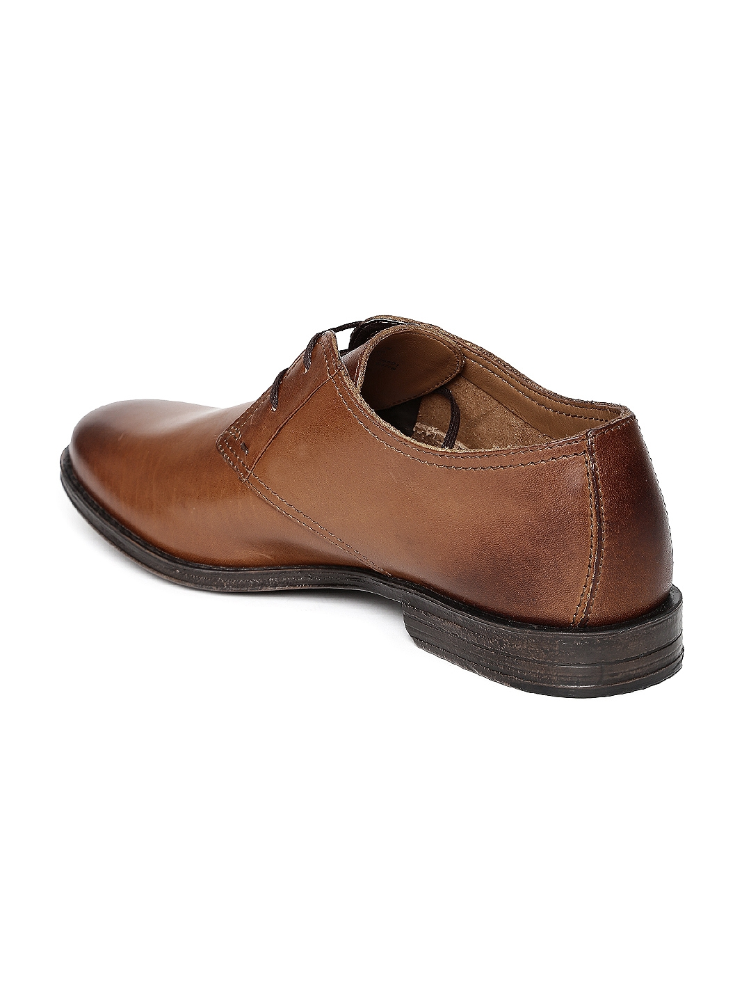 Buy Clarks Men Brown Leather Derby Formal Shoes - Formal Shoes for ... 7ef6c2abcdfe