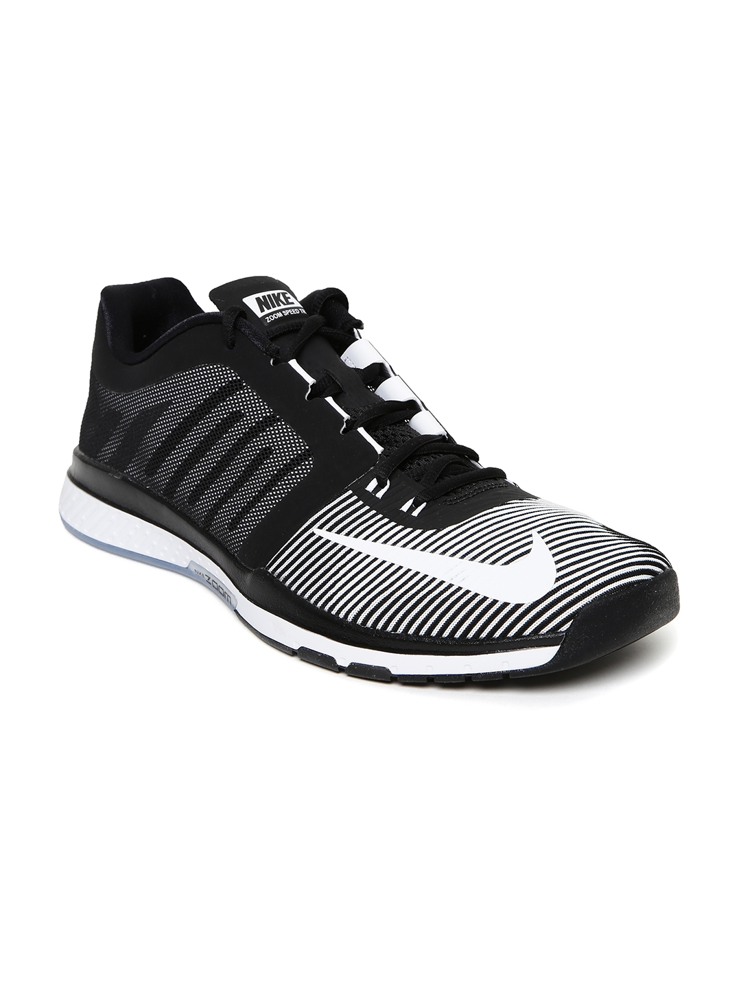 a294915d3aa54 Buy Nike Men White & Black Zoom Speed TR3 Training Shoes - Sports ...