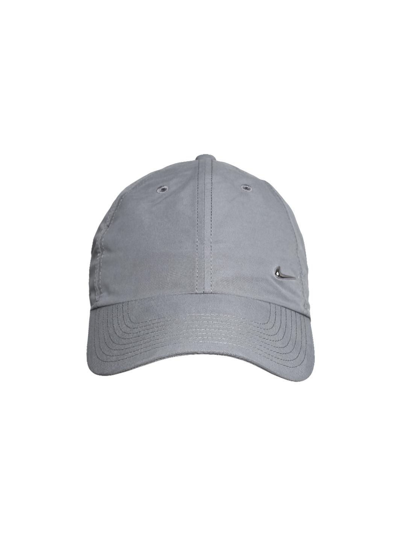 a272afcae Nike Unisex Grey Metal Swoosh H86 Cap
