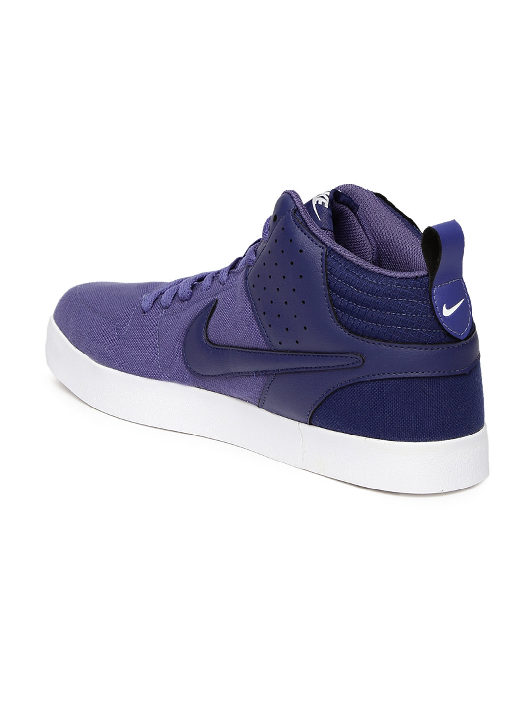 cc9d4486386 Buy Nike Men Purple Liteforce III Mid NSW Sneakers - Casual Shoes ...