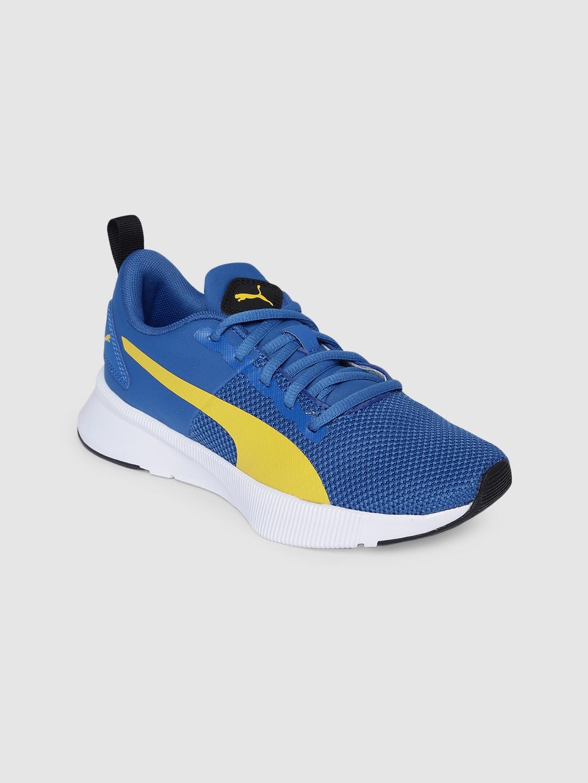 Puma Girls Blue Mesh Running Shoes