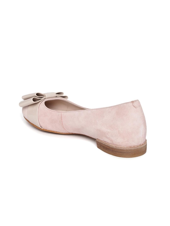ba873843d5 Buy Clarks Women Dusty Pink Suede Ballerinas - Flats for Women | Myntra