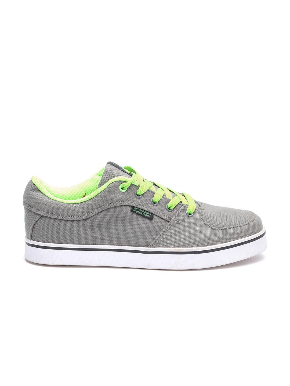Buy United Colors Of Benetton Men Grey