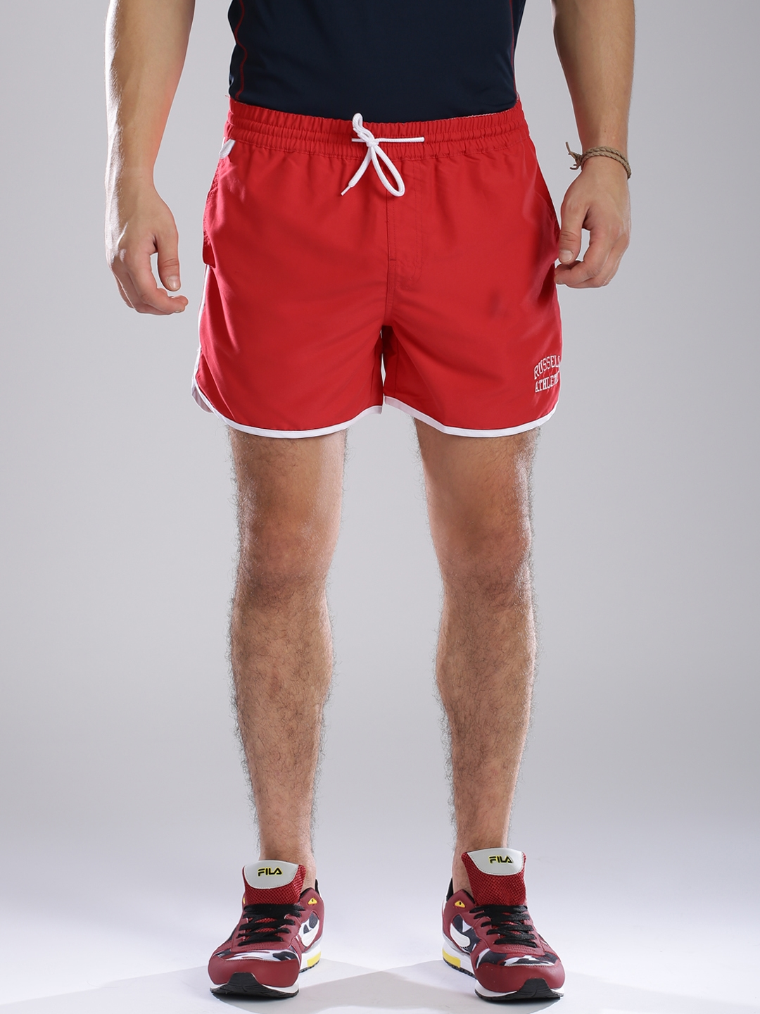74d31f8bd773 Buy Russell Athletic Red Shorts - Shorts for Men 1271896