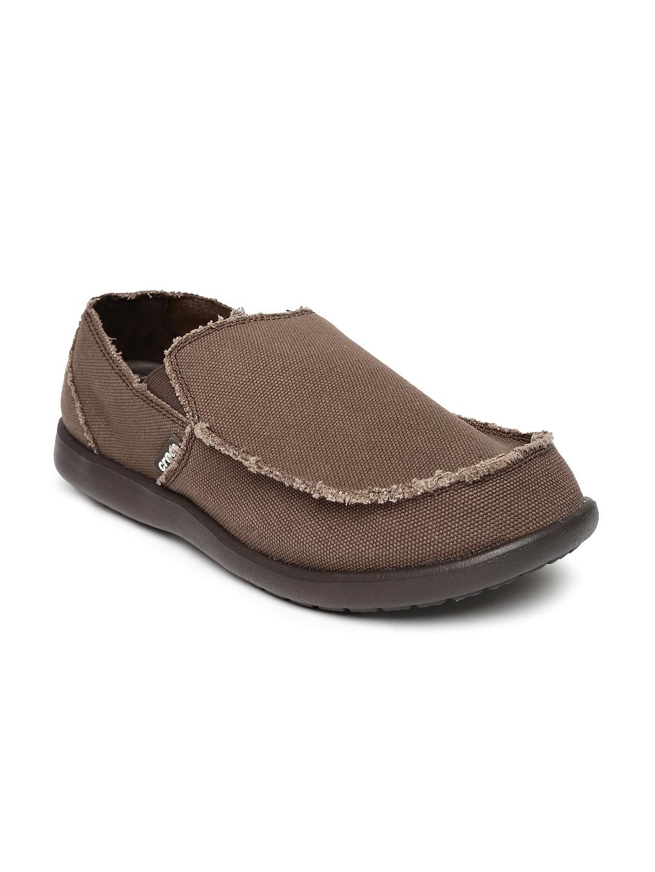 36e623b564a52c Buy Crocs Men Brown Santa Cruz Loafers - Casual Shoes for Men ...